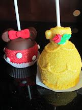 Disney Minnie Mouse Caramel Apples