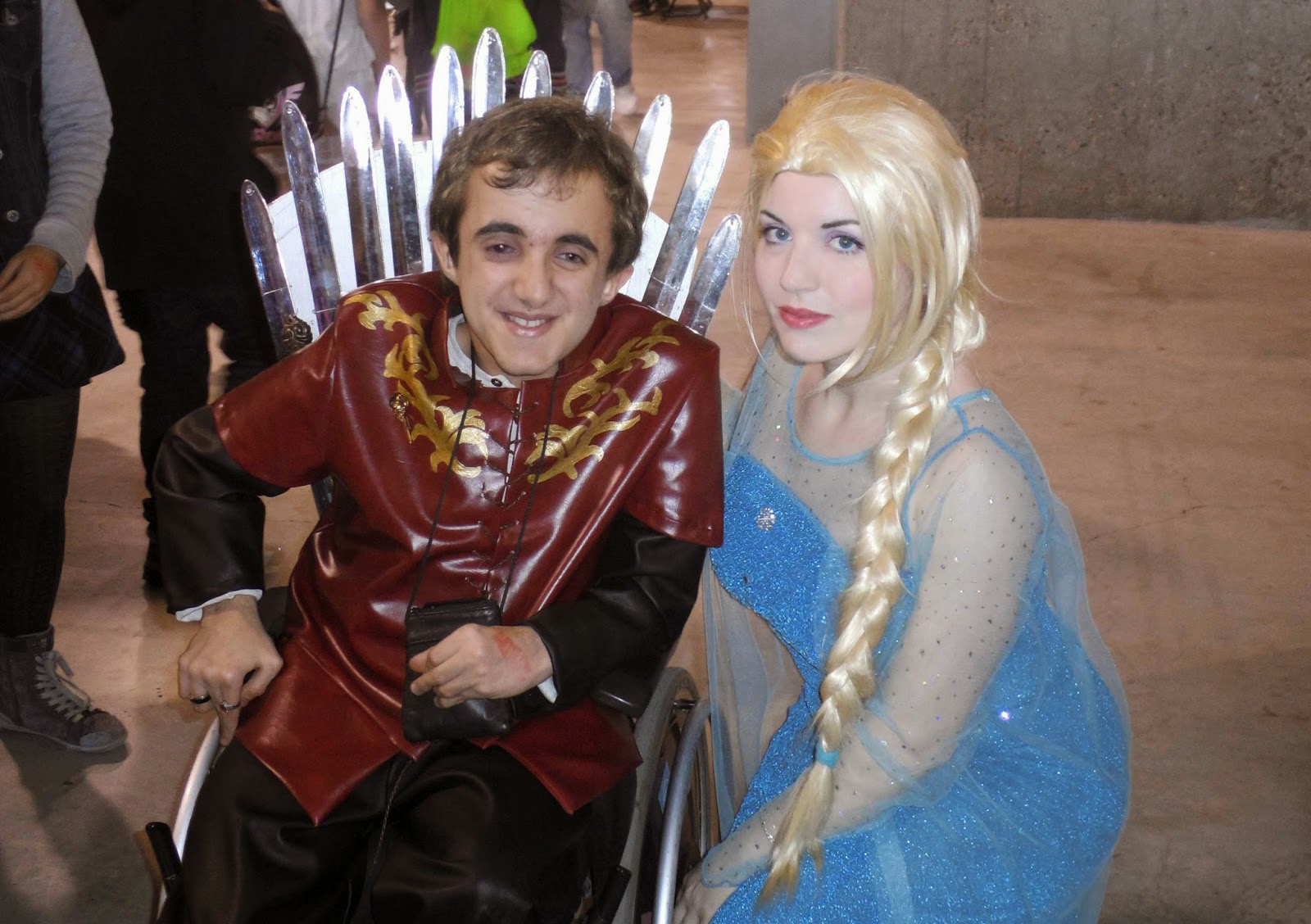 tyrion elsa cosplay chibi japan weekend
