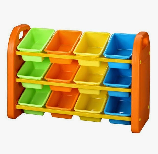 plastic bins storage design