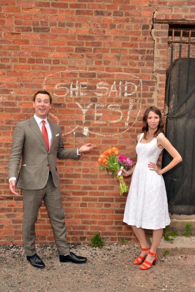 She Said Yes! - Brooklyn Tobacco Warehouse