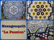 "Blog: Hexagonquilt ""La Passion"""