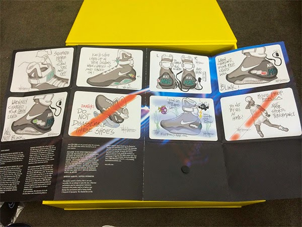 """Instrucciones Zapatillas Nike Mag """"Regreso al Futuro"""""""