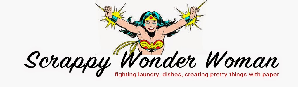 Scrappy Wonder Woman