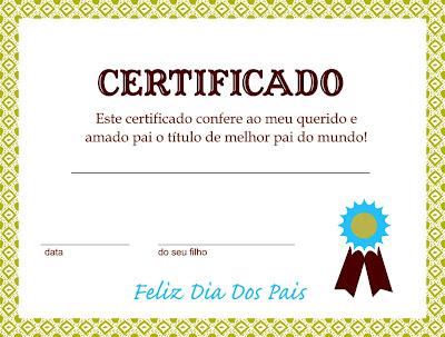 Cartões-diplomas-certificados-dia dos pais