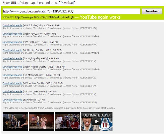 download youtube video no java