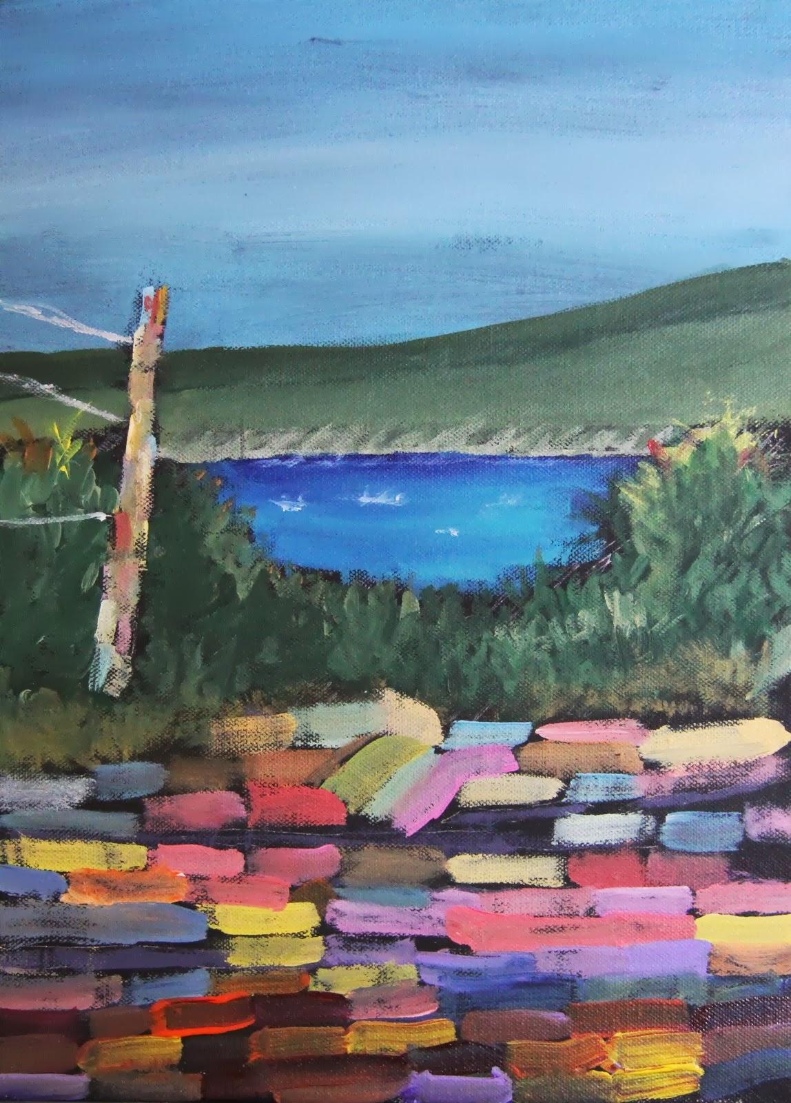 Ann Steer Gallery - Beach Paintings and Ocean Art: Kids ...