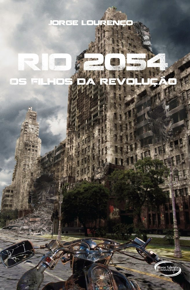 """Capa do Livro """"Rio 2054"""""""