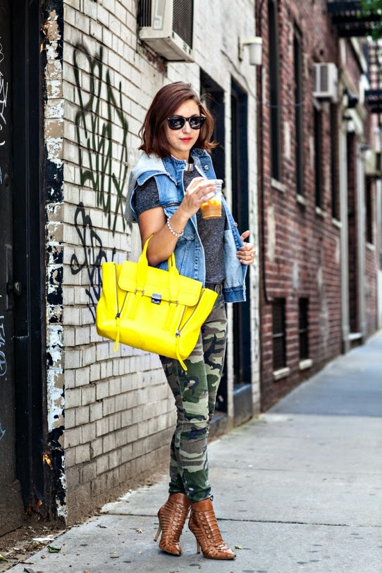 5 Chic Ways to Wear Camouflage
