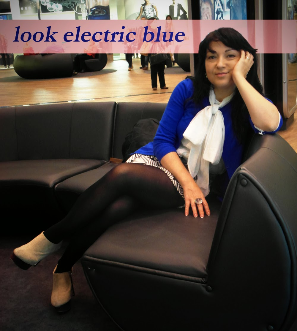 look electric blue