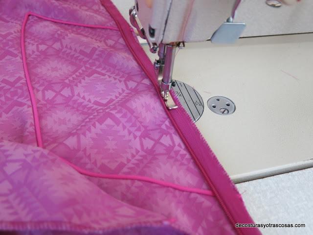 prensatelas para coser cremalleras invisibles