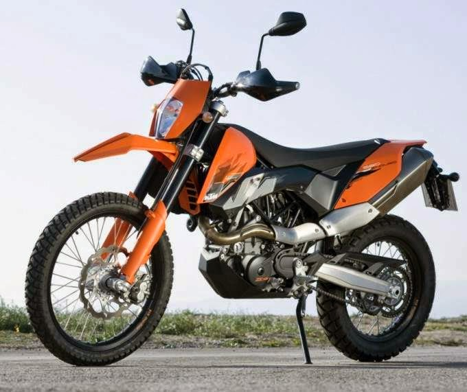 KTM 690 LC4 Supermoto New Enduro Bikes HD Wallpapers