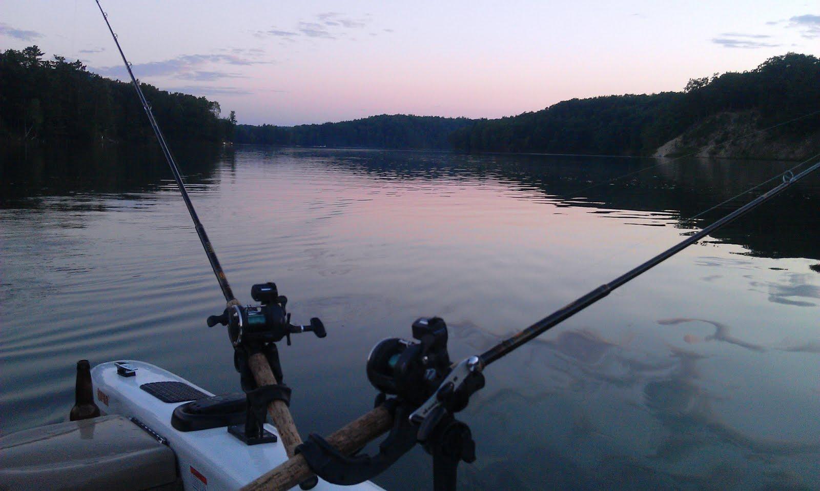 Houghton lake walleye report tippy dam pond 7 16 11 for Tippy dam fishing