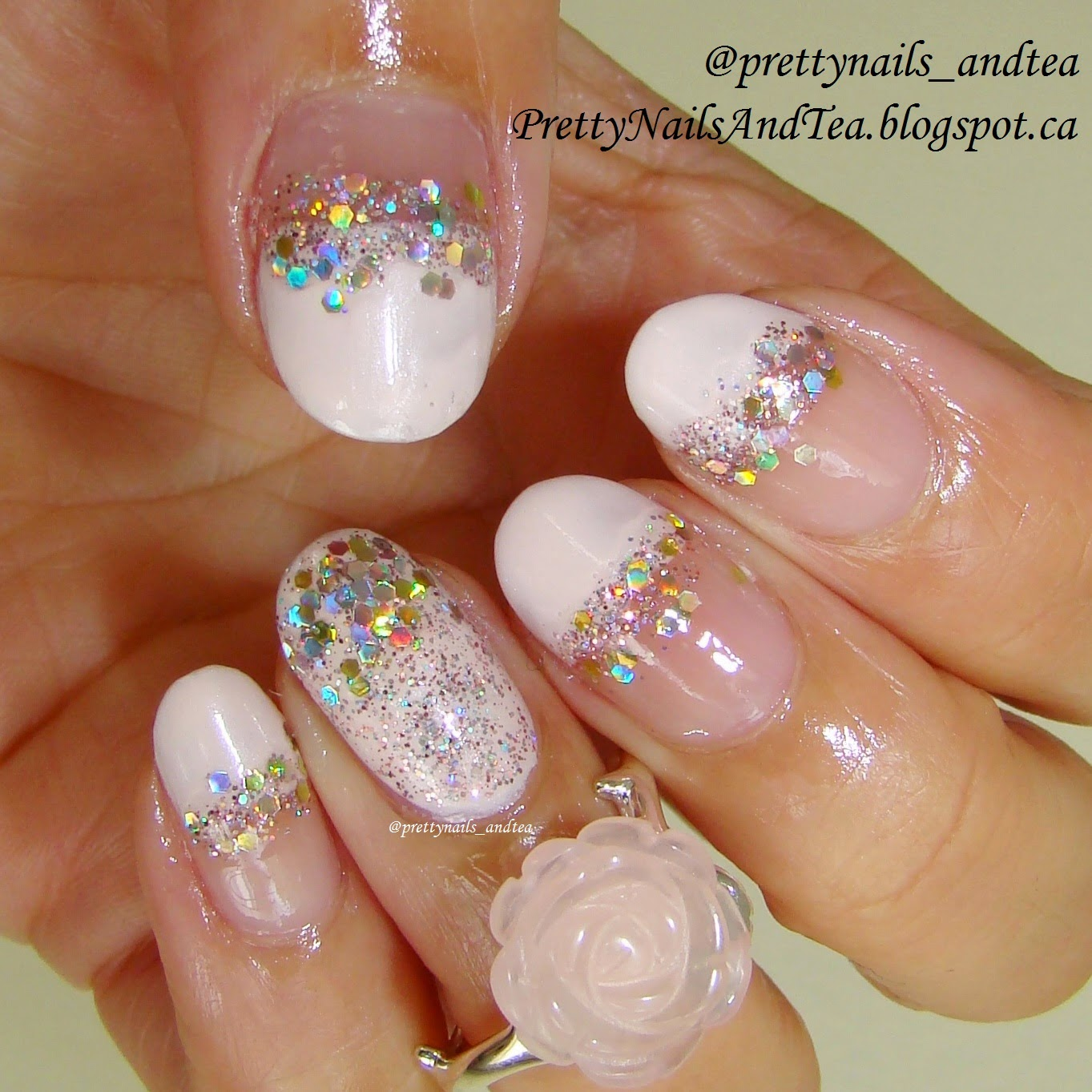 glamour nail art wedding nails julep