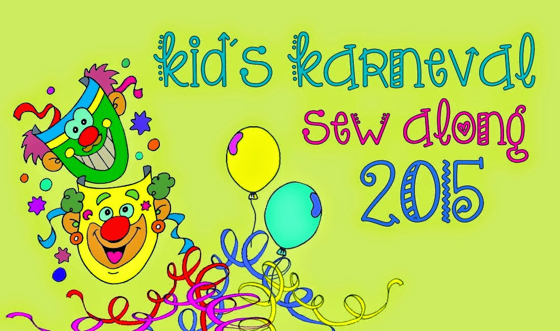 Kid's Karneval Sew Along 2015