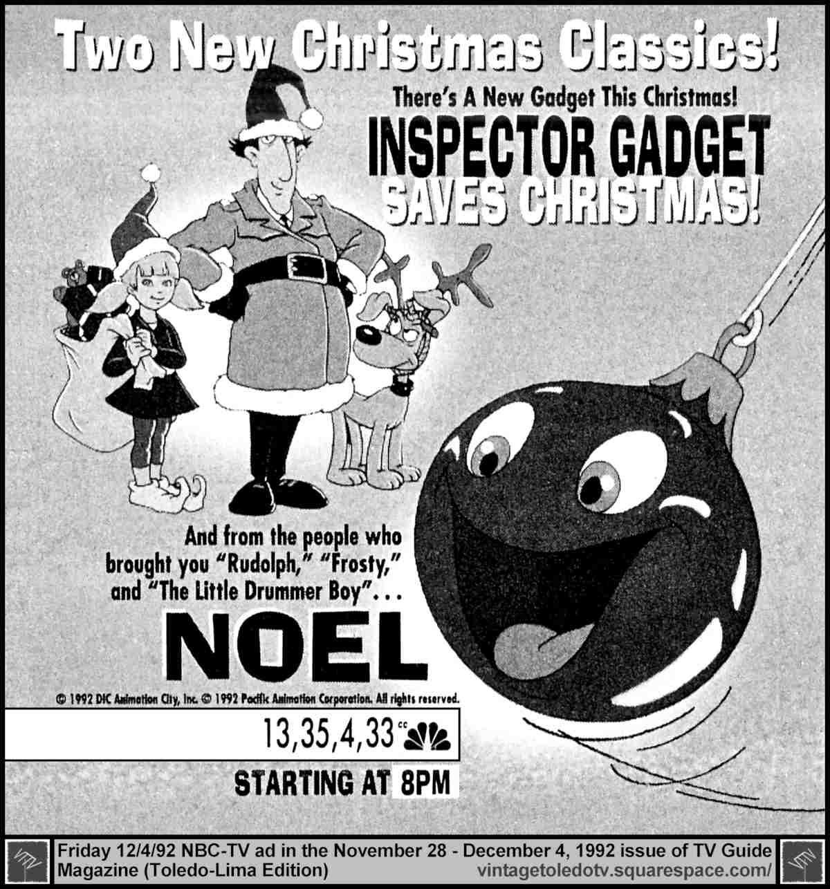 Next Time, Gadget!... Inspector Gadget\'s Ultimate Fan Blog: NBC ...
