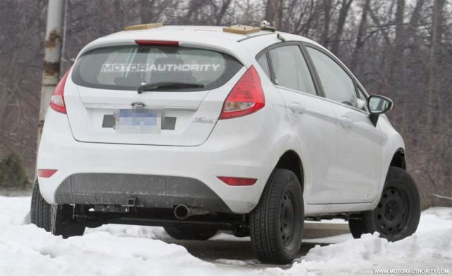 2012 Ford Fiesta Crossover