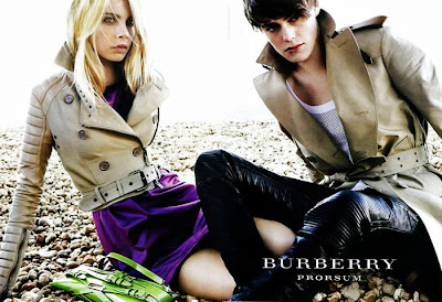 burberry prorsum kampagne frühling sommer 2011