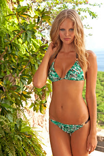 Marloes Horst hot in sexy Sauvage Swimwear 2012