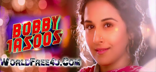 Poster Of Bollywood Movie Bobby Jasoos (2014) 300MB Compressed Small Size Pc Movie Free Download worldfree4u.com