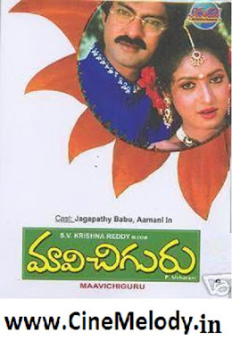 Maavi Chiguru Telugu Mp3 Songs Free  Download 1996