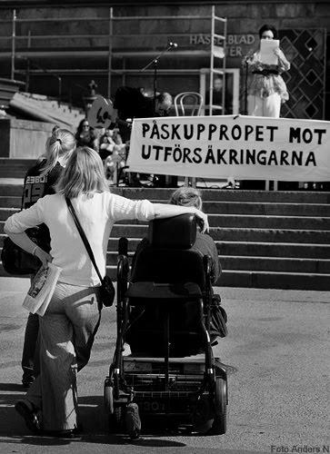 påskuppropet, uppropet mot utförsäkringar, göteborg, götaplatsen, 2011, foto anders n