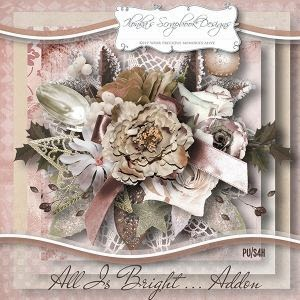 "Kit ""All Is Bright Addon"" by Ilonka´s Scrapbook Designs"