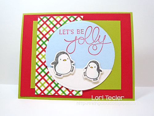 Let's Be Jolly card-designed by Lori Tecler/Inking Aloud-stamps from Mama Elephant