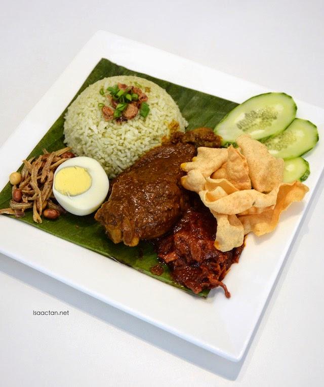 Nasi Lemak - RM12.90