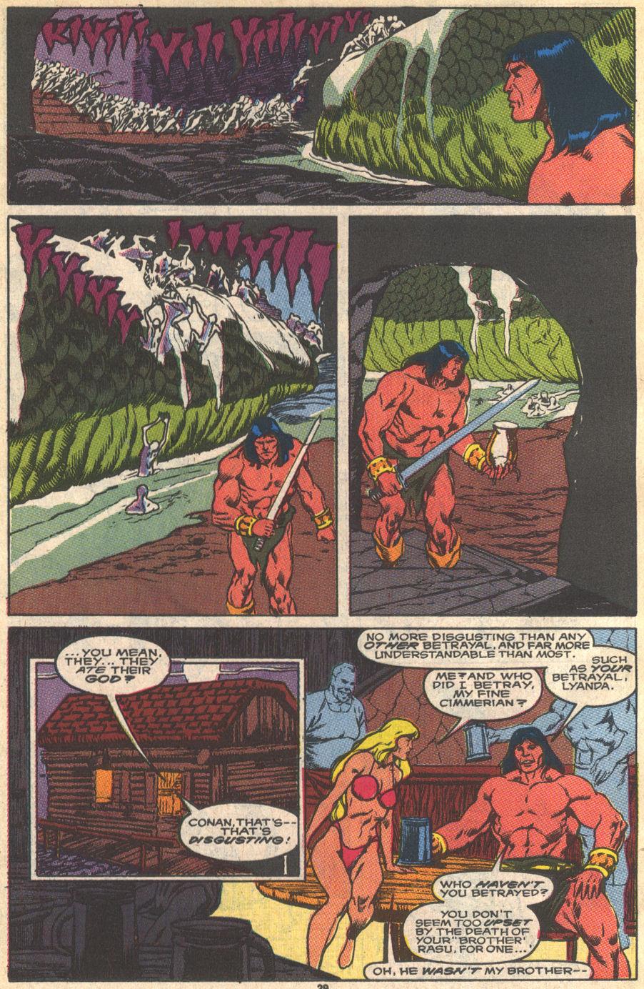 Conan the Barbarian (1970) Issue #229 #241 - English 22