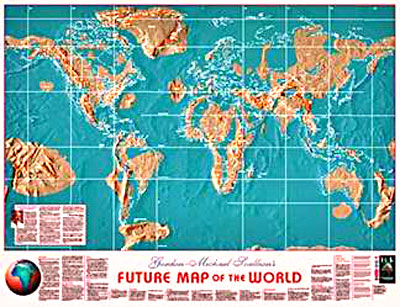 edgar cayce map of earth changes