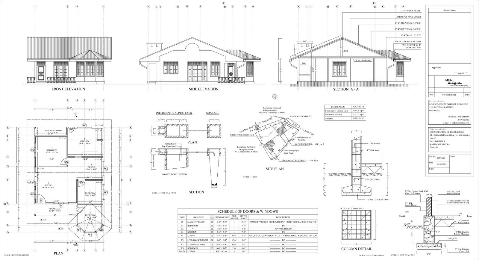 House plan sri lanka for Sri lankan house plans