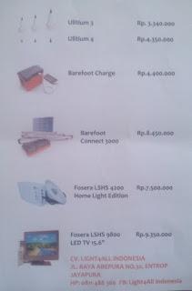 Penyesuaian Harga Lampu dan Charger Solar Terkait Perubahan Nilai Tukar Rupiah terhadap Dolar