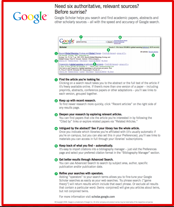7 Tips to Effectively Use Google Scholar