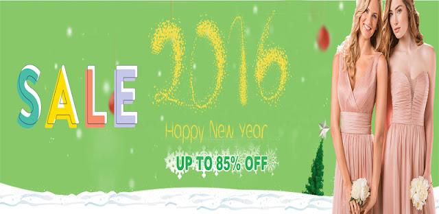 Bridesmaid Dresses 2016 New Year Sale