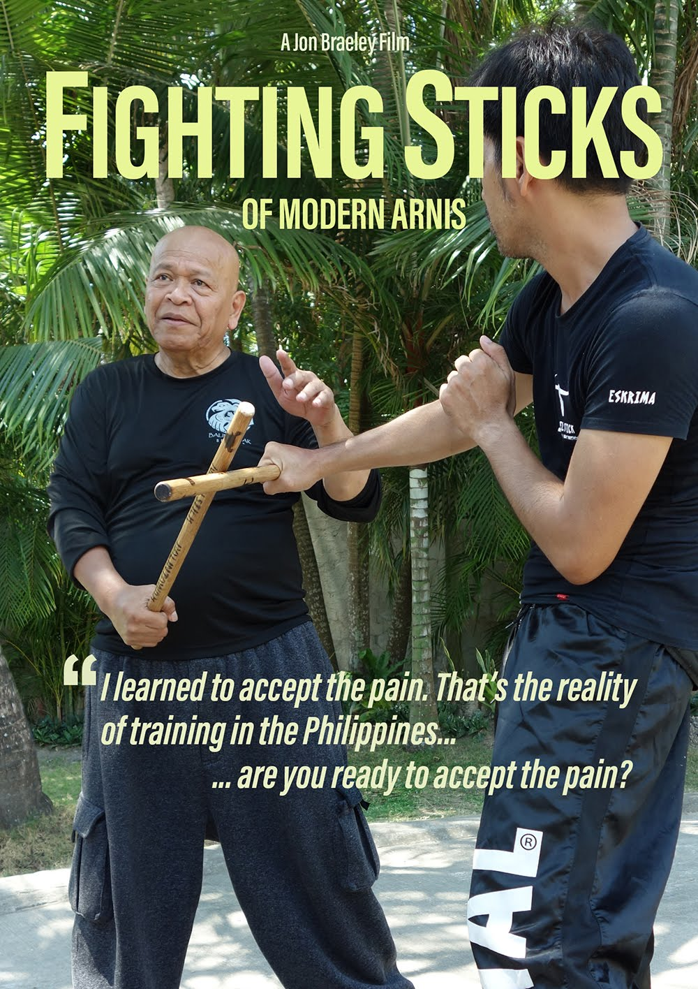 FIGHTING STICKS OF MODERN ARNIS