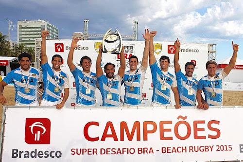 Super Desafio Bra de Beach Rugby