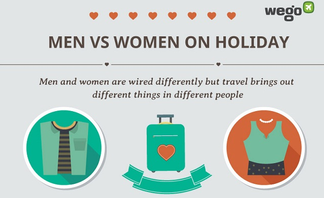 Image: Men vs Women on Holiday