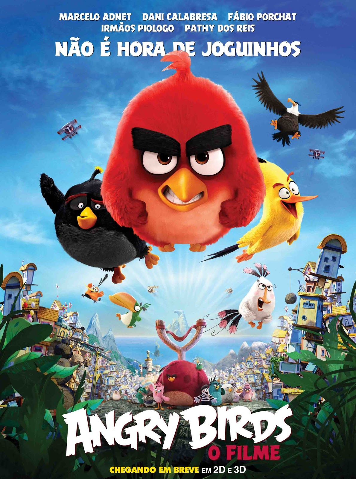 Angry Birds: O Filme 3D Torrent - Blu-ray Rip 1080p Dual Áudio (2016)