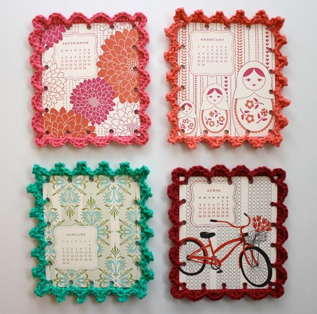 Reciclatex: Cómo hacer marcos de crochet