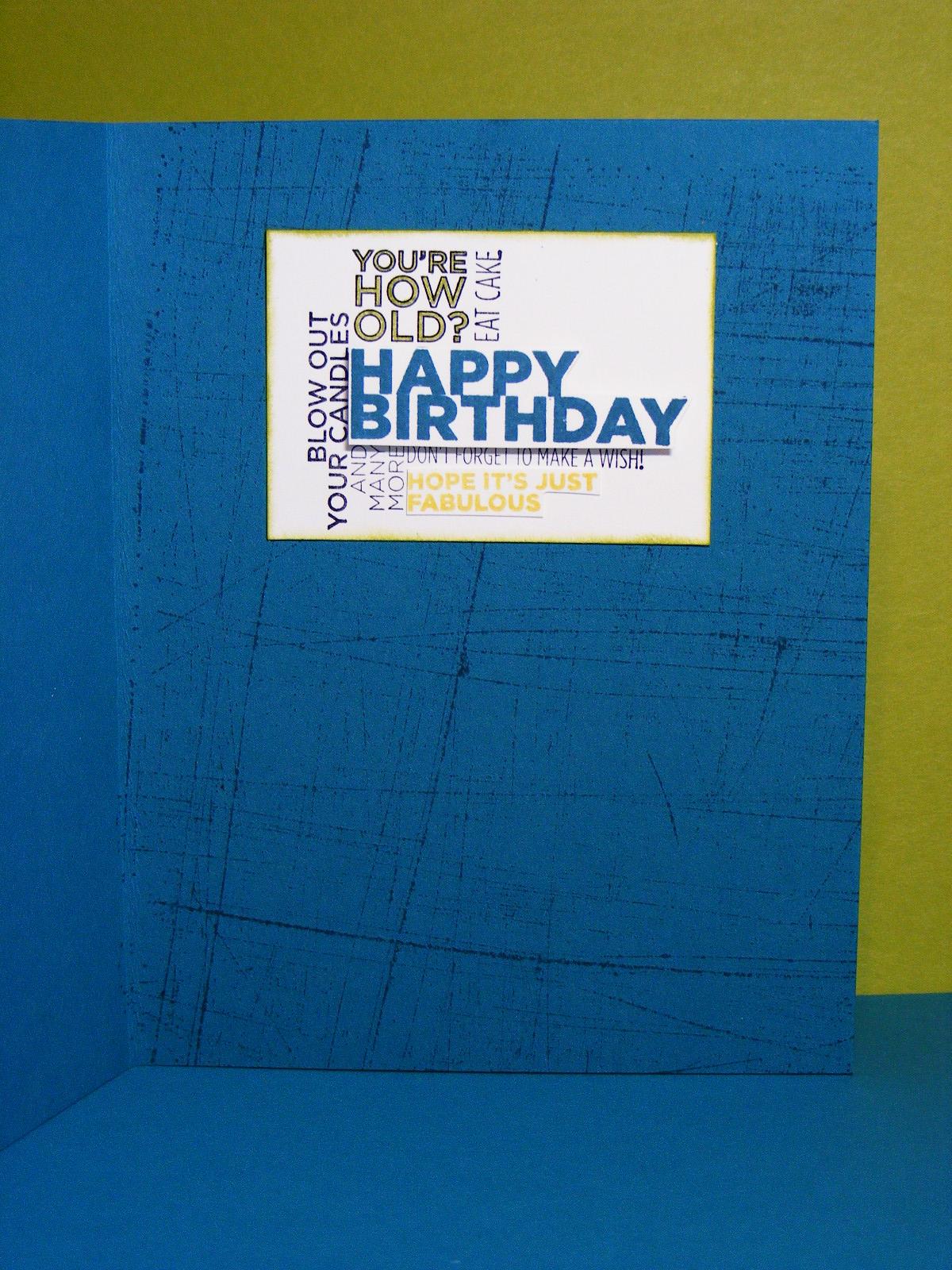 A La Cards 16 year old Boy birthday for PPA105