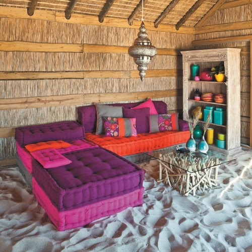 indian day bed, decor