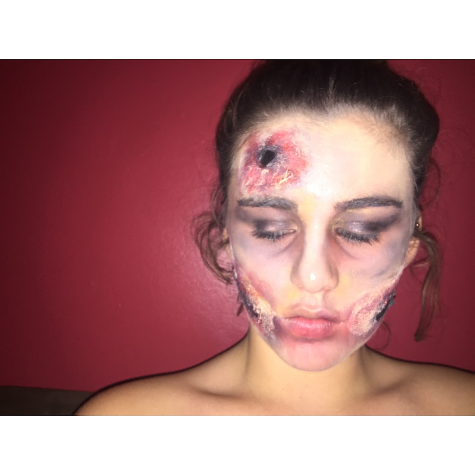 casualty special effects makeup college
