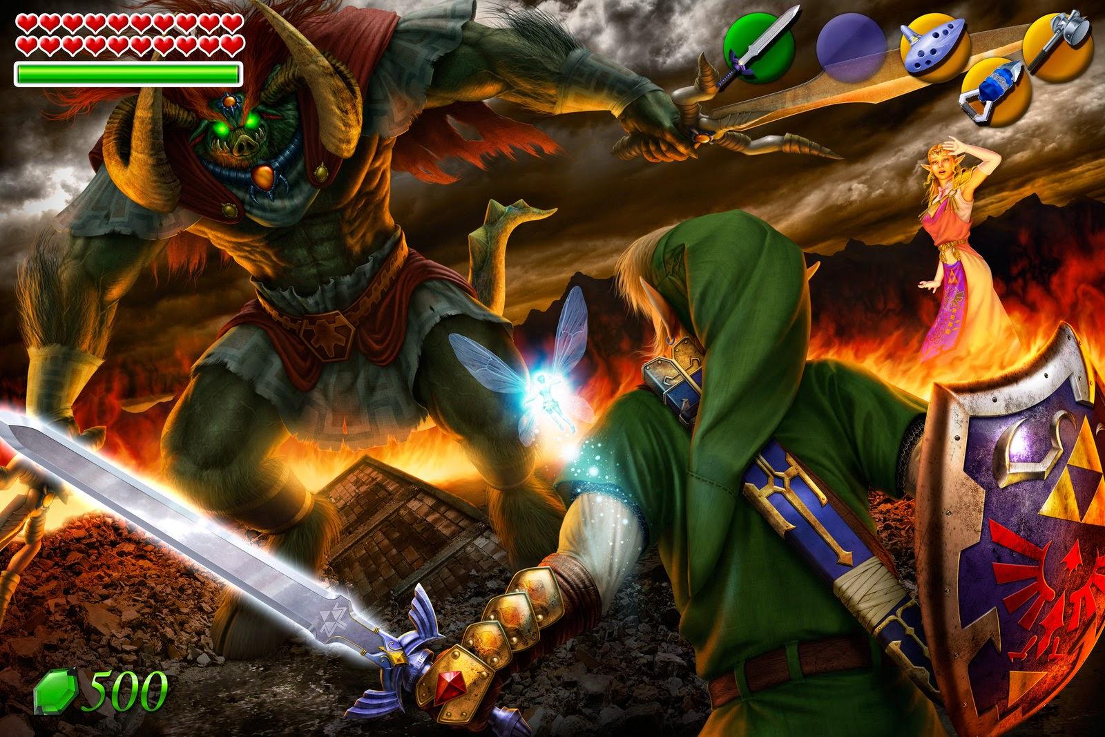 The Legend Of Zelda Ring