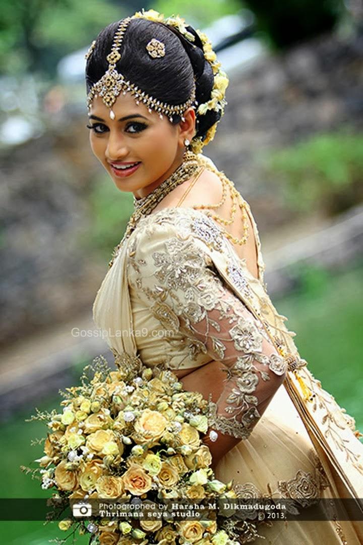 Sri Lankan Actress New Wedding Photo