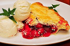 Mmm...cherry pie by jeffreyw via Flickr and a Creative Commons license