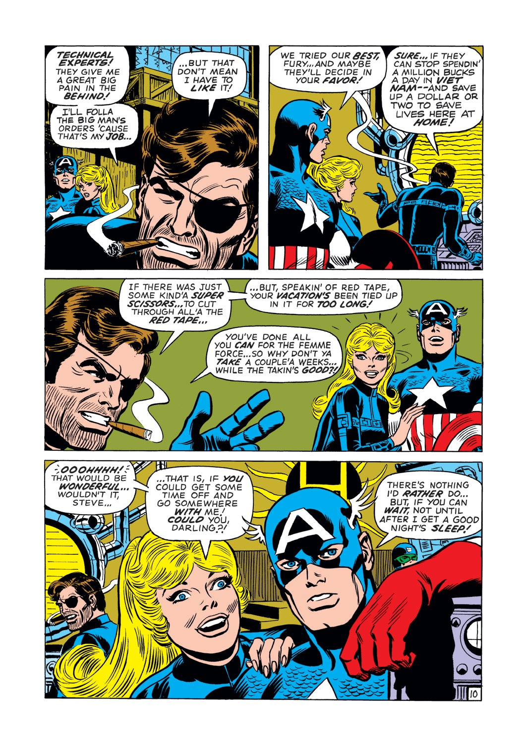 Captain America (1968) Issue #144 #58 - English 11