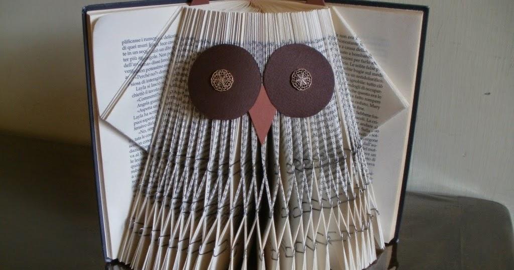 clara maffei: Owl - folded book