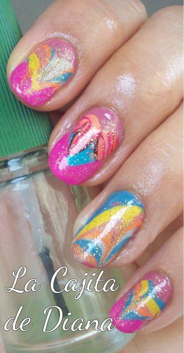watermarble-nails