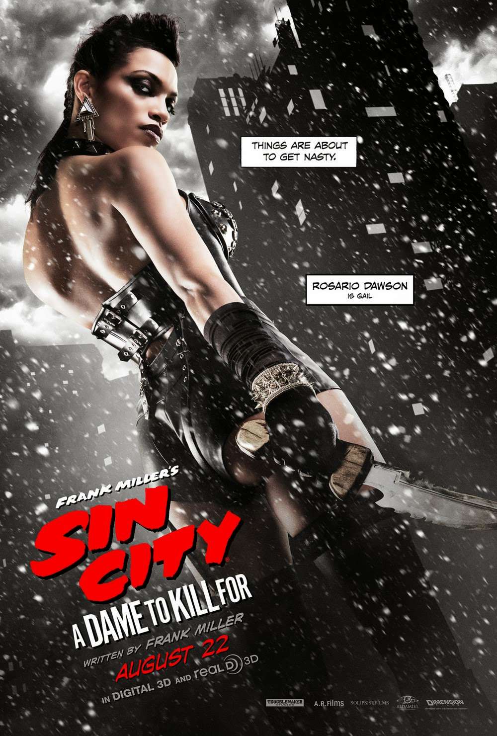 Sin City A Dame To Kill For Rosario Dawson