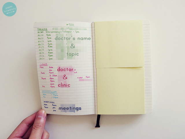 paper lovestory a lifestyle blog from a university student about  the monthly planning spreads came in useful for organising each week on placement i used the left hand side for some goals that i set myself such as do a